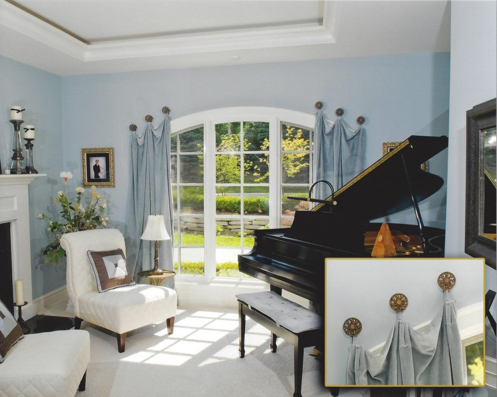 Piano Room Blue